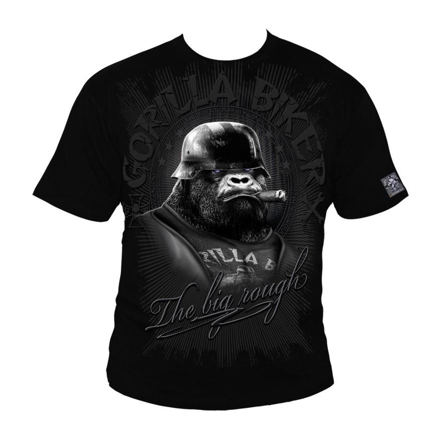 91853defd3bb Motorkářské tričko Gorilla Biker GB39 - Big Cigar