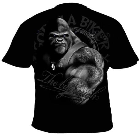 Motorkářské tričko Gorilla Biker GB47 - All for one, Velikost M
