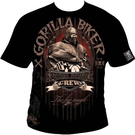 Motorkářské tričko Gorilla Biker GB52 - Special Service