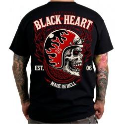 Triko BLack Heart Hatter
