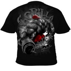 Bodybuilding tričko Silberrücken SR163 - Gorilla Power 4