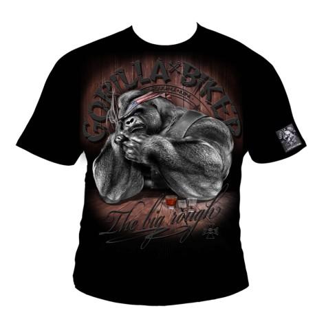 Motorkářské tričko Gorilla Biker GB46 - Bull`s Plan