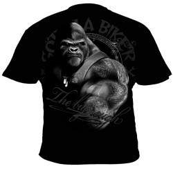 Motorkářské tričko Gorilla Biker GB47 - All for one