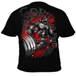 Bodybuilding tričko Silberrücken SR164 - Gorilla Power 5