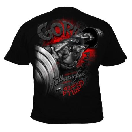 Bodybuilding tričko Silberrücken SR168 - Gorilla Power 9