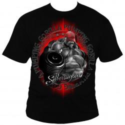 Bodybuilding tričko Silberrücken SR162 - Gorilla Power 3